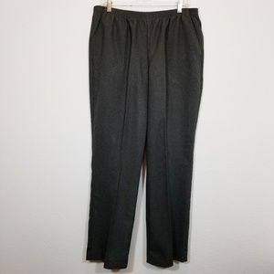 WHITE STAG Womens Gray Dress Pants